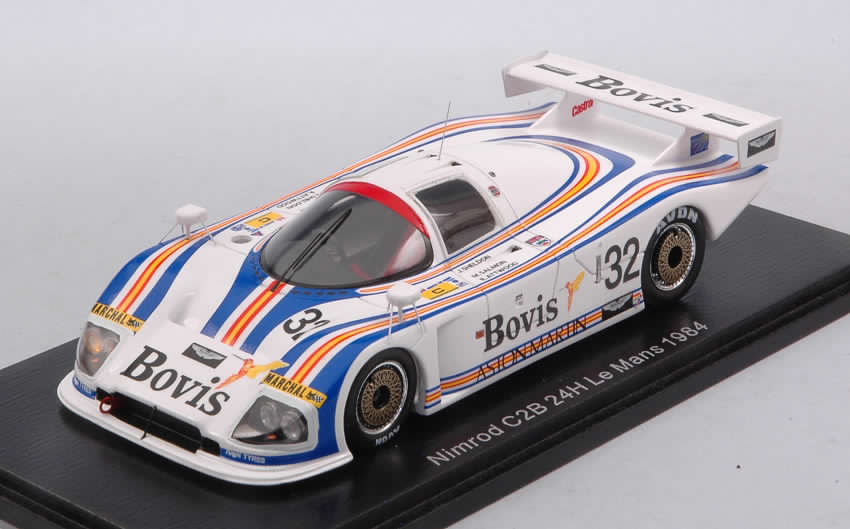 Aston Martin C2B #32 Le Mans 1984 Salmon - Sheldon - Attwood by spark-model