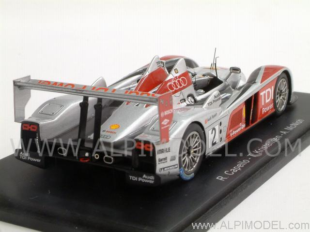 Audi R10 #2 Le Mans 2007  Capello - Kristensen - McNish - spark-model