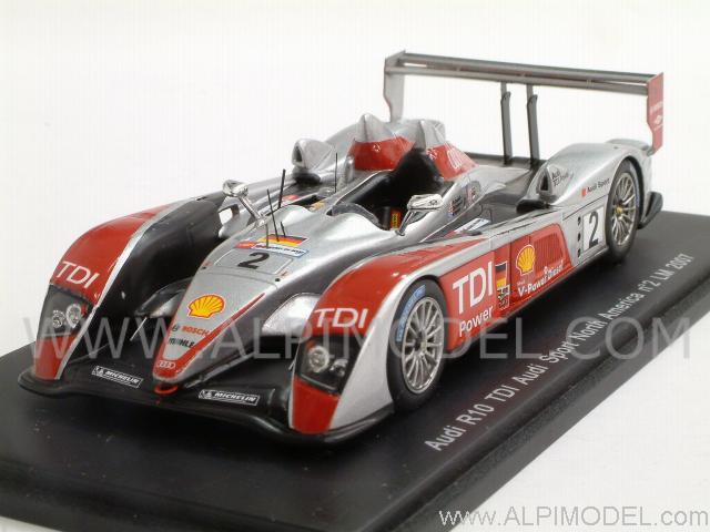 Audi R10 #2 Le Mans 2007  Capello - Kristensen - McNish by spark-model