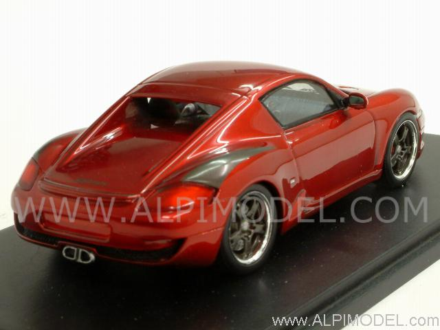 RUF RK Coupe 2006 (Red Metallic) - spark-model