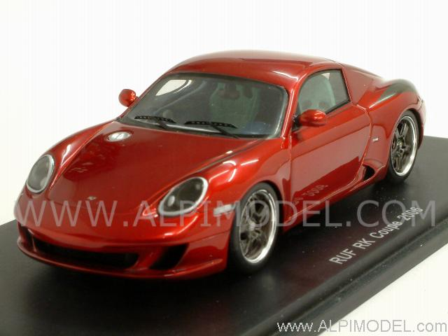 RUF RK Coupe 2006 (Red Metallic) by spark-model
