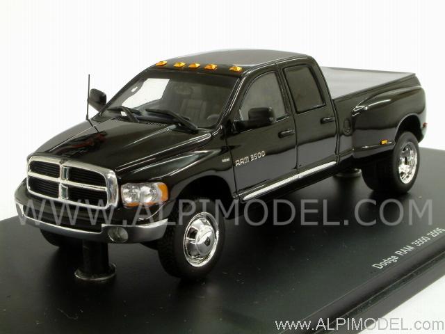 1999 Dodge Ram 3500 >> spark-model Dodge RAM 3500 2005 (Black) (1/43 scale model)