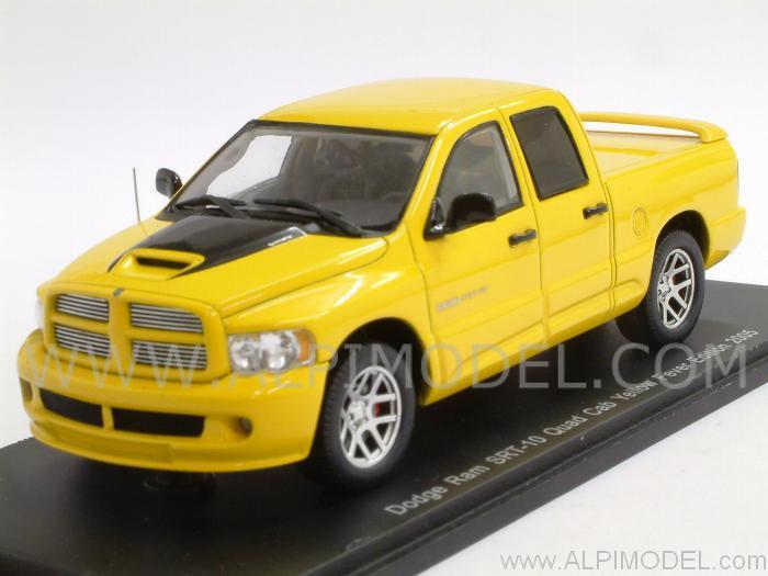 Dodge Ram Srt >> spark-model Dodge RAM SRT-10 Quad Cab Yellow Fever Edition ...