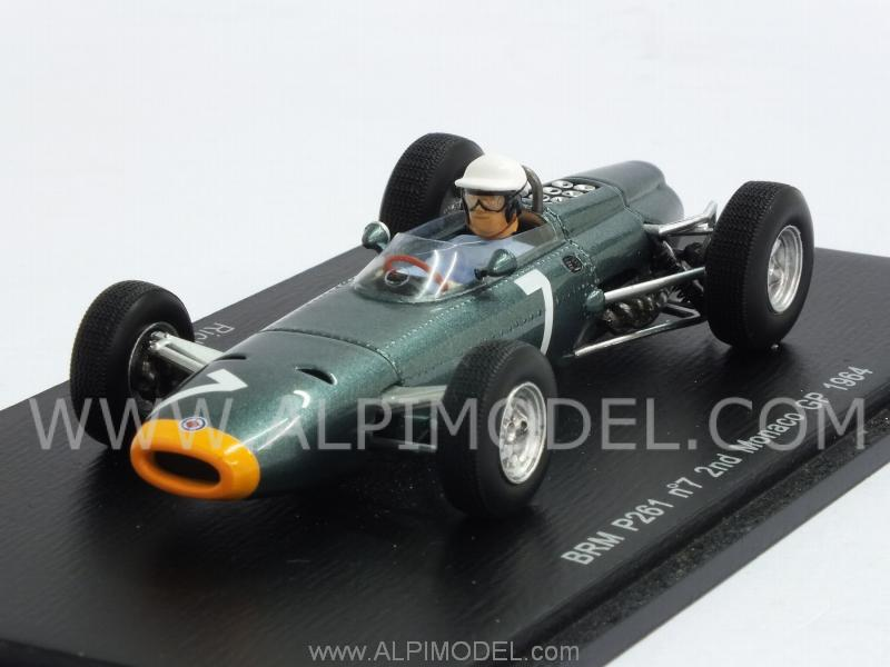 BRM P261 #7 GP Monaco 1964 Richie Ginther by spark-model