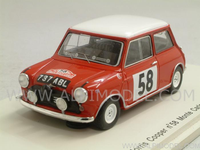Morris Mini Cooper #58 Rally Monte Carlo 1963 Mayman - Domleo by spark-model