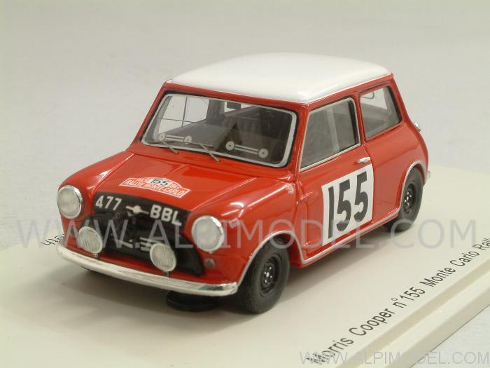 Morris Mini Cooper #155 Rally Monte Carlo 1963 Morrison - Culcheth by spark-model