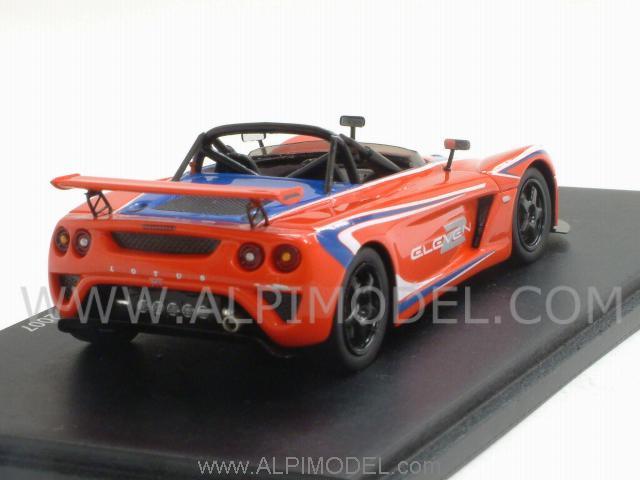 spark-model Lotus 2-Eleven Tokyo Show 2007 (Red Scorpion) (1/43 ...