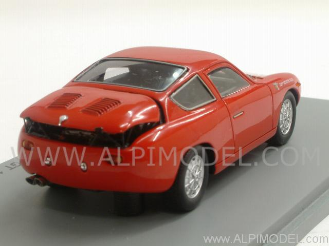 Abarth Fiat 1000 Bialbero GT 1961 (Red) - spark-model