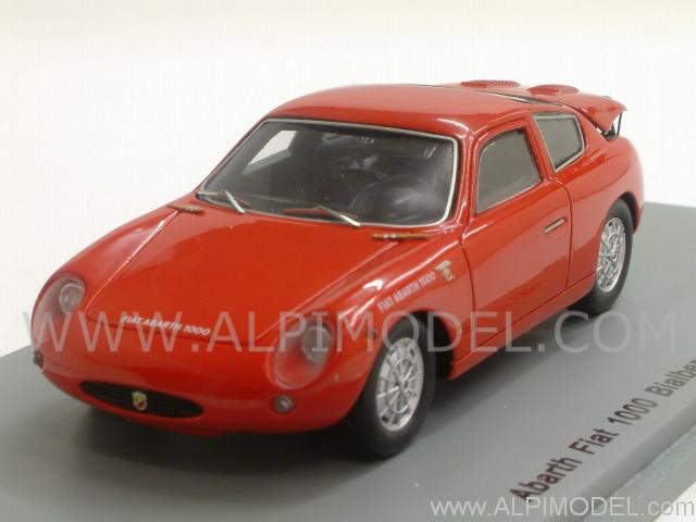 Abarth Fiat 1000 Bialbero GT 1961 (Red) by spark-model
