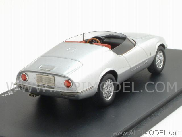 Abarth 1000 GT Spider Pininfarina 1964 (Silver) by spark-model