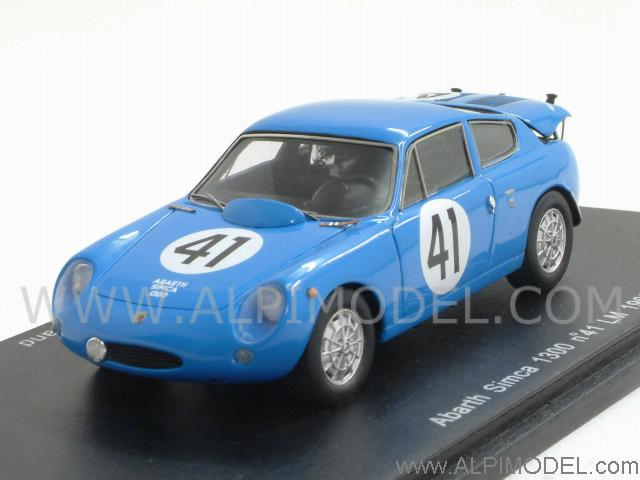Abarth Simca 1300 #41 Le Mans 1962 De Lageneste - Rolland by spark-model