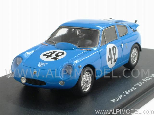 Abarth Simca 1300 #42 Le Mans 1962 Oreiller - Spychiger by spark-model