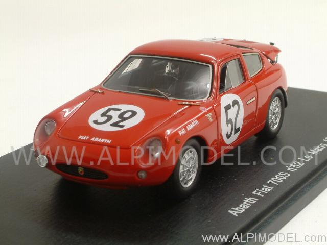 Abarth Fiat 700S #52 Le Mans 1962 Demetz - Bianchi by spark-model