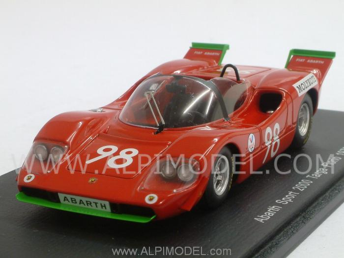 Abarth Sport 2000 #98 Targa Florio 1970 Taramazzo - Virgilio by spark-model