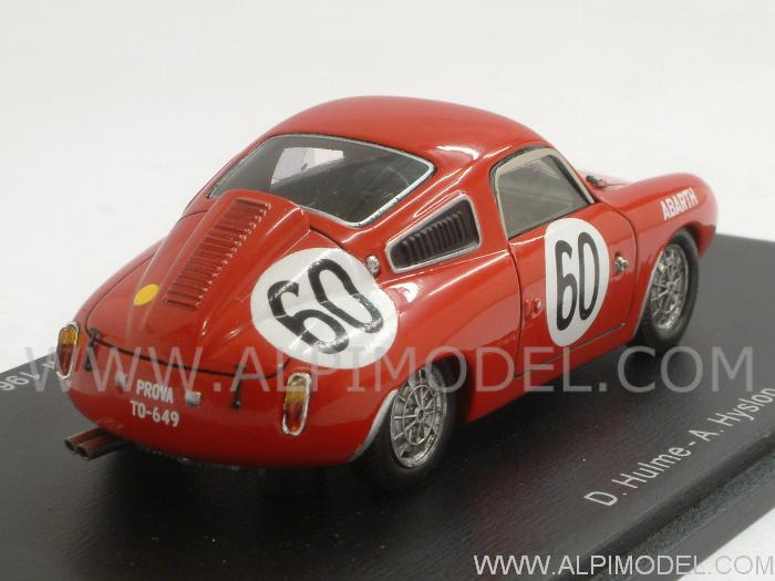 Abarth 850 S #60 Le Mans 1961 Hulme - Hyslop - spark-model
