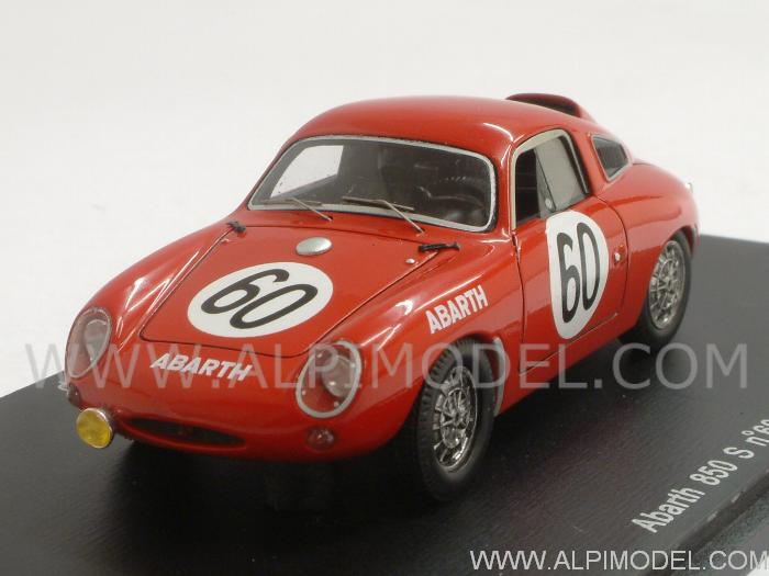 Abarth 850 S #60 Le Mans 1961 Hulme - Hyslop by spark-model