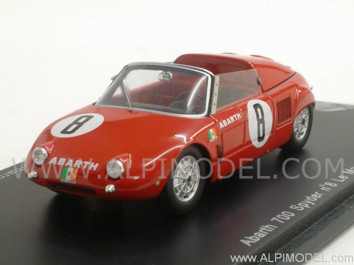 Abarth 700 Spider #8 Le Mans 1961 Frescobaldi - Cammarota by spark-model