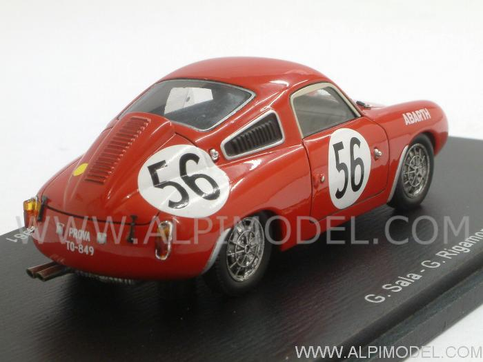 Abarth 700S #56 Le Mans 1961 Sala - Rigamonti - spark-model