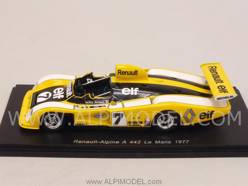Alpine Renault A442 #7 Le Mans 1977 Tambay - Jaussaud - spark-model