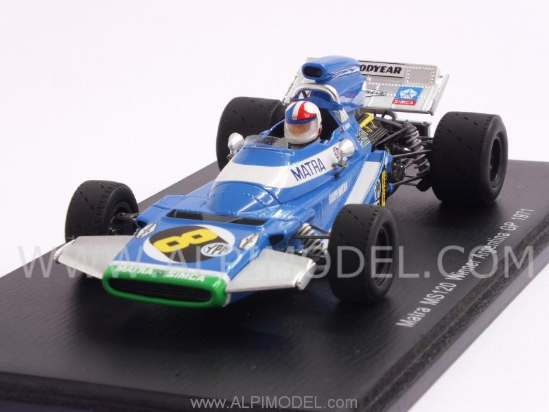 Matra MS120B #8 Winner GP Argentina 1971 Chris Amon by spark-model