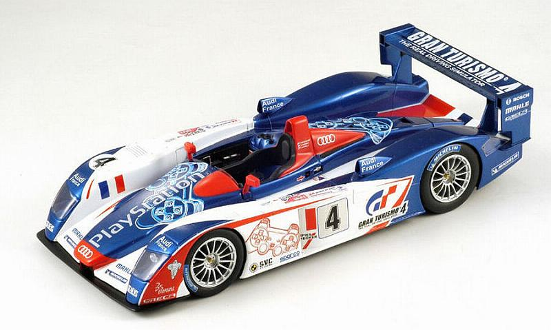 Audi R8 Playstation #4 Le Mans 2005 Montagny - Gounon - Ortelli by spark-model