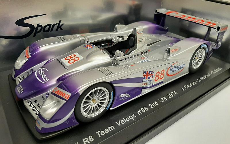 Audi R8 #88 Le Mans 2004 Davies - Herbert - Smith by spark-model