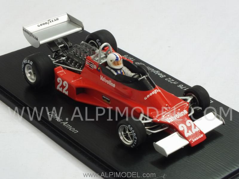 Ensign N176 #22 GP Belgium 1976 Chris Amon - spark-model