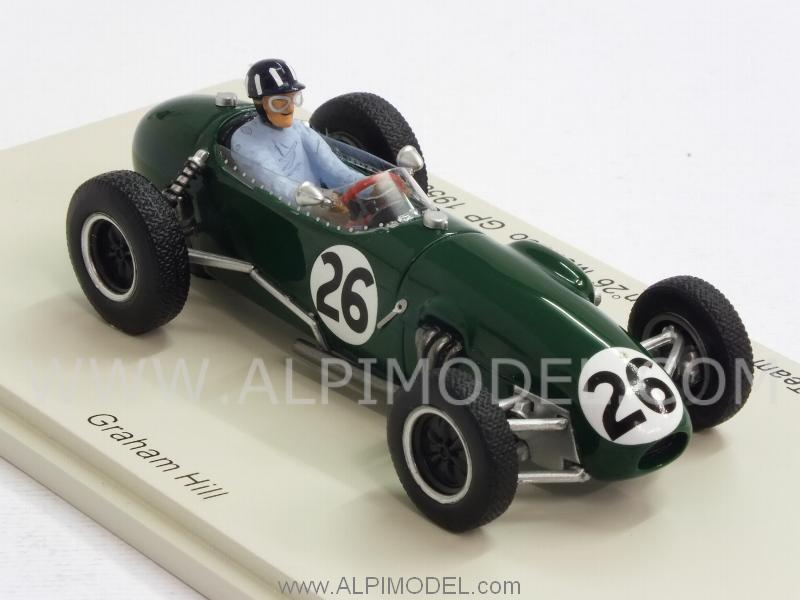 Lotus 12 #26 GP Monaco 1958 Graham Hill - spark-model