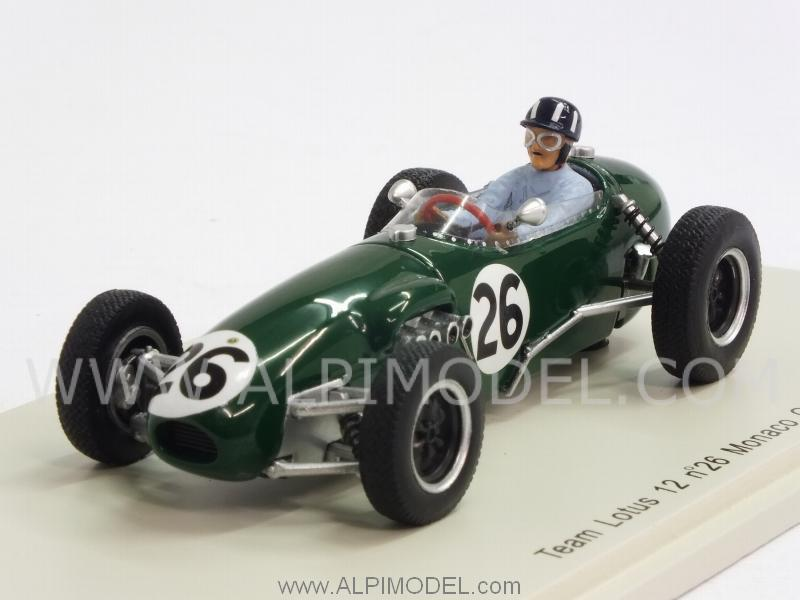 Lotus 12 #26 GP Monaco 1958 Graham Hill by spark-model