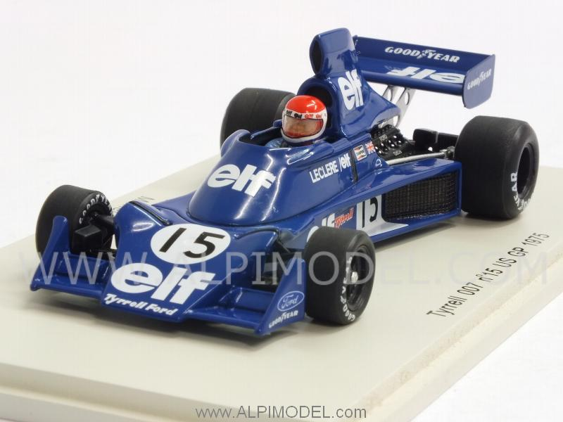 Tyrrell 007 #15 GP USA 1975 Michel Leclere by spark-model