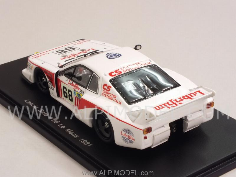 Lancia Beta Monte Carlo Turbo #68 Le Mans 1981 Finotto - Pianta - Schon - spark-model