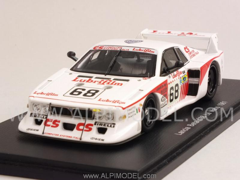 Lancia Beta Monte Carlo Turbo #68 Le Mans 1981 Finotto - Pianta - Schon by spark-model