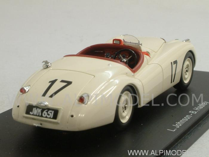 Jaguar XK120 #17 Le Mans 1950 Johnson - Hadley - spark-model