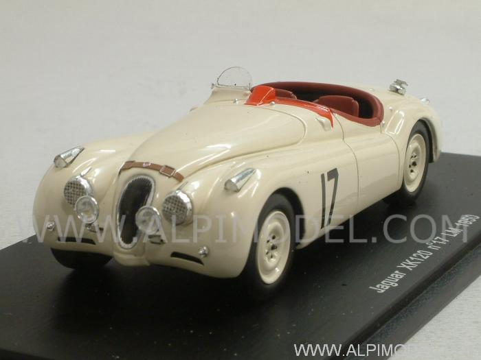 Jaguar XK120 #17 Le Mans 1950 Johnson - Hadley by spark-model