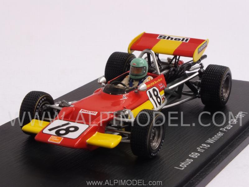 Lotus 69 #18 Winner GP Pau 1971 Reine Wisell by spark-model