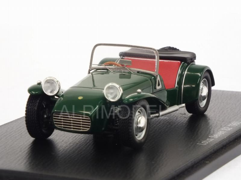 Lotus Seven S2 1960 (Green) by spark-model
