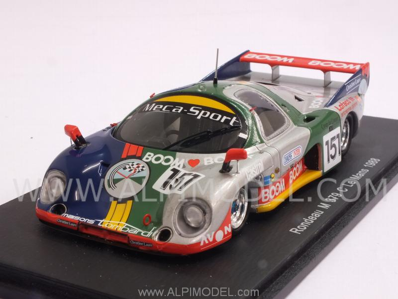 Rondeau M379C #151 Le Mans 1988 Lombardi - Sotty by spark-model