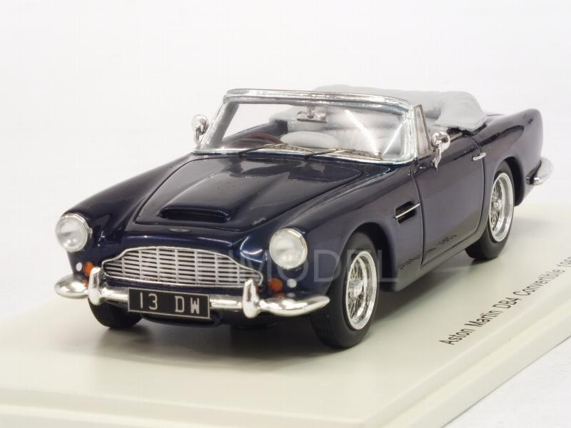 Aston Martin DB4 Convertible 1962 (Dark Blue) by spark-model