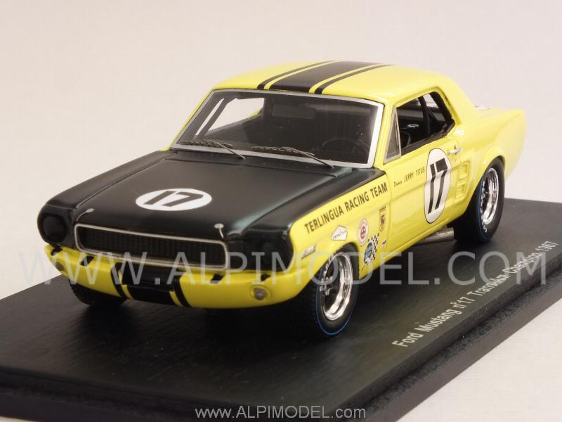 spark-model Ford Mustang #17 Trans-Am Champion 1967 Jerry