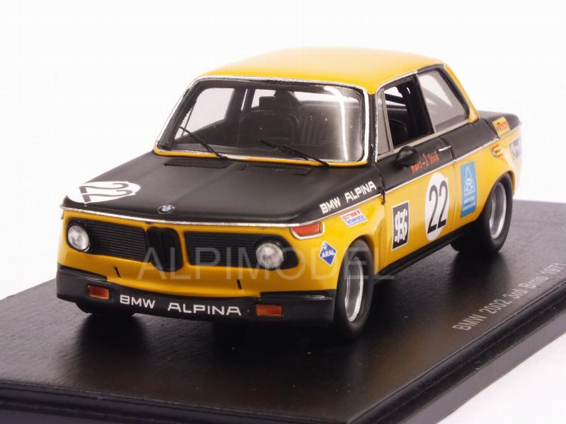 BMW 2002 #22 Grand Prix Brno 1971 H.J.Stuck by spark-model