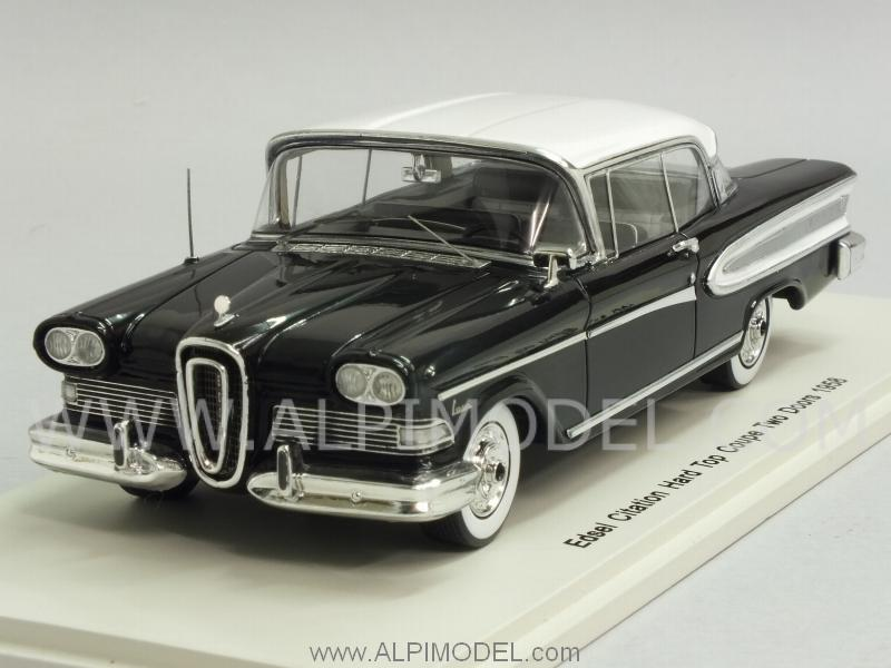Edsel Citation Hard Top Coupe 1958 Two doors (Black/White) by spark-model
