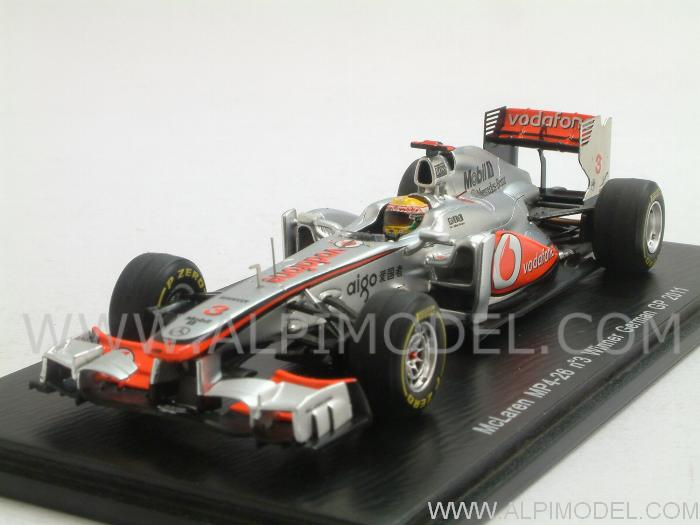 McLaren MP4/26 #3 Winner GP Germany 2011  Lewis Hamilton by spark-model