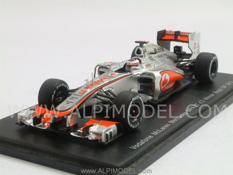 McLaren MP4/27 Mercedes Winner GP Brasil 2012 Jenson Button by spark-model