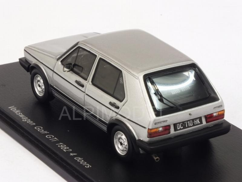 Volkswagen Golf GTI 1982 4-doors (Silver) - spark-model