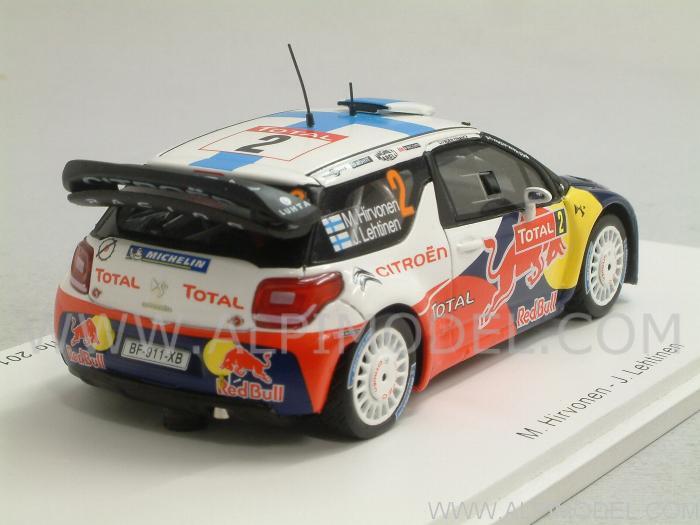 spark-model Citroen DS3 WRC #2 Rally Monte Carlo 2012 ...