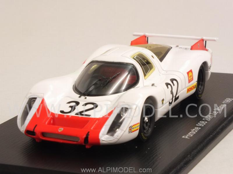 Porsche 908 #32 Le Mans 1968 Mitter - Elford by spark-model