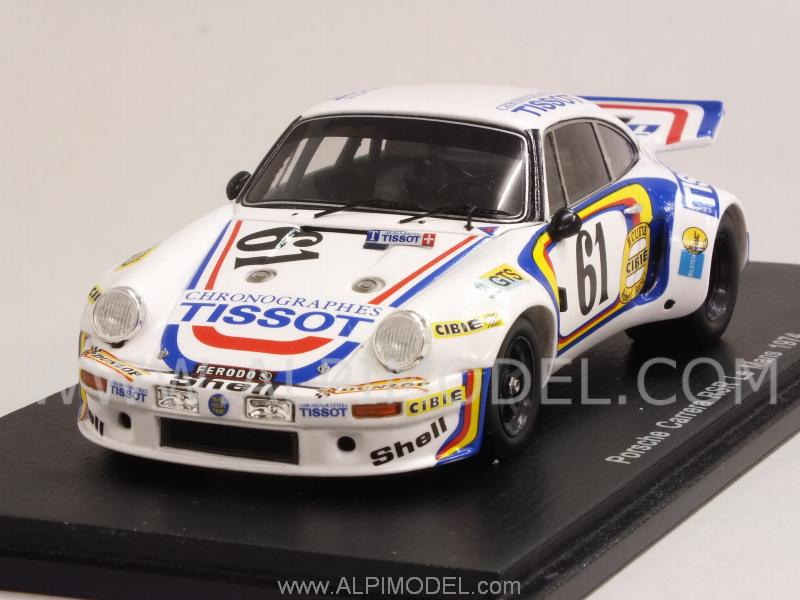 Porsche 911 Carrera RSR #61 Le Mans 1974 Ballot Lena - Vic Elford by spark-model