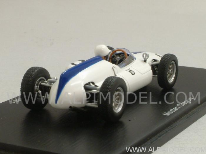 Cooper T53 #42 British GP 1961 Masten Gregory - spark-model