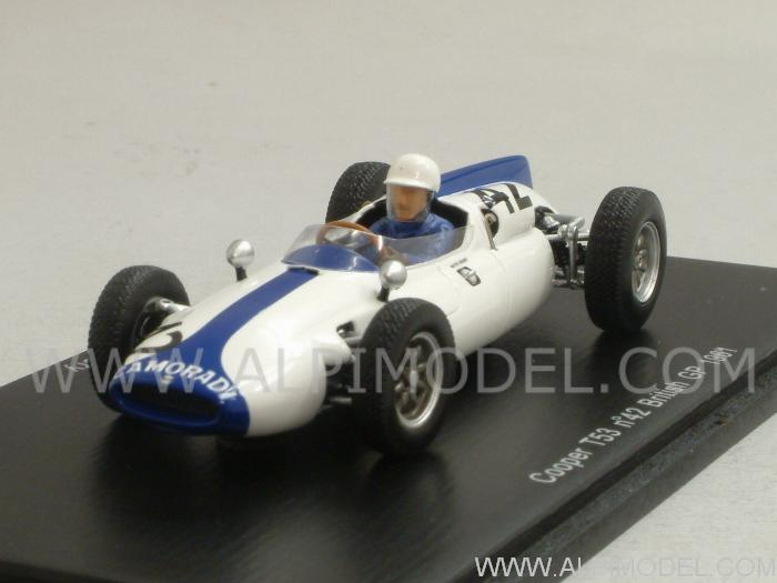 Cooper T53 #42 British GP 1961 Masten Gregory by spark-model