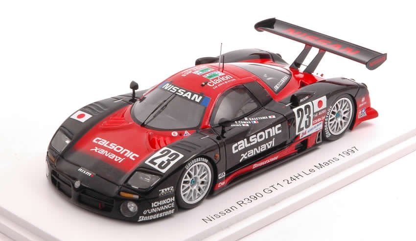 Nissan R390 GT1 #23 Le Mans 1997 Hoshino - Comas - Kageyama by spark-model